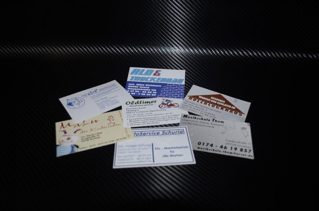 Beispielbild fuer Visitenkarten