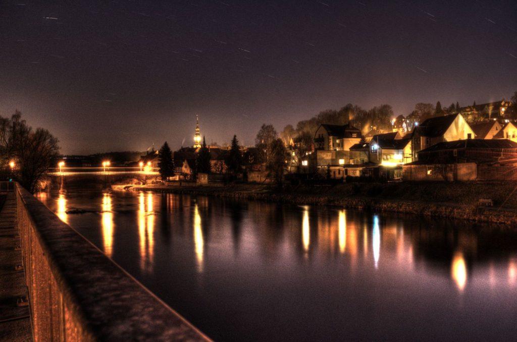 Ein Beispiel fuer Nachtfotographie.